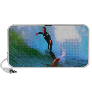 surfer confidence and success mini speakers