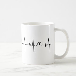 Surfer cup heartline