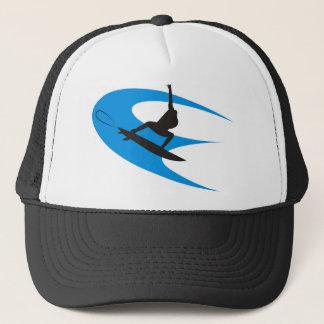 Surfer Design Trucker Hat
