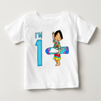 Surfer Dude 1st Birthday T Shirts