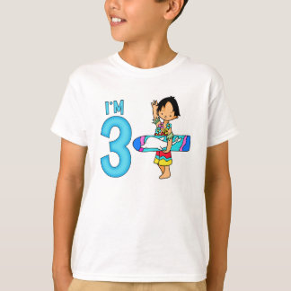 Surfer Dude 3rd Birthday T-Shirt
