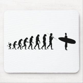 surfer_evolution mouse pad