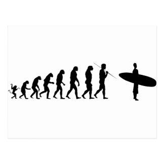 surfer_evolution postcard