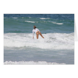 Surfer Girl 8a Greeting Card