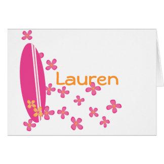Surfer Girl Cards