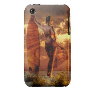 Surfer Girl iPhone 3 Case-Mate Case