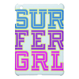 Surfer Girl cover iPad Mini Cover