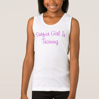 Surfer Girl In Training Tank Top