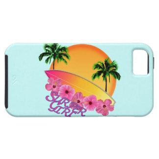 Surfer Girl iPhone 5 Case