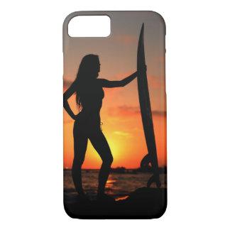 Surfer Girl iPhone 7 Case