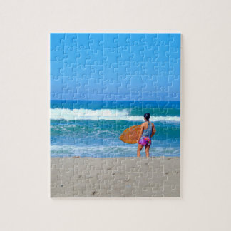 Surfer Girl Jigsaw Puzzle