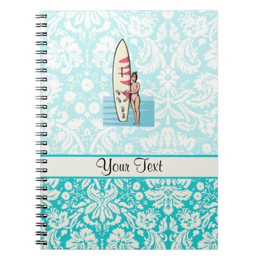 Surfer Girl Notebook