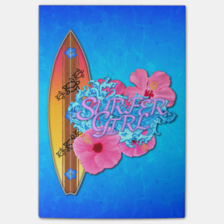 Surfer Girl Post-it® Notes