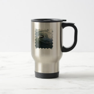 Surfer in a Wetsuit Travel Mug