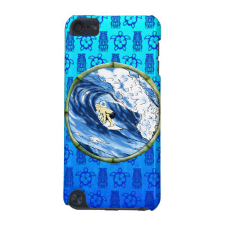 Surfer In Bamboo Circle iPod Touch (5th Generation) Cover