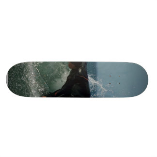 Surfer In Ocean Beach Skate Board Decks