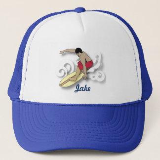 Surfer in the Barrel Trucker Hat