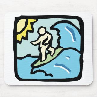 surfer joe mouse pads