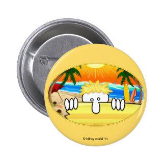 Surfer Kilroy Basic Button