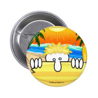 Surfer Kilroy Button
