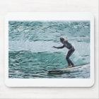 surfer mouse mat