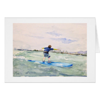 Surfer No. 1 Card