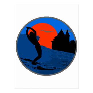 Surfer of Biarritz Postcard