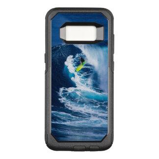 Surfer on Green Surfboard OtterBox Commuter Samsung Galaxy S8 Case