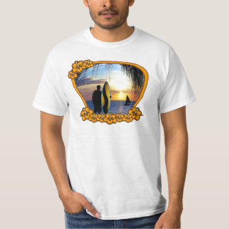 Surfer on the Beach T-Shirt