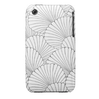 """""""Surfer Shells"""" iPhone 3 Cover"""