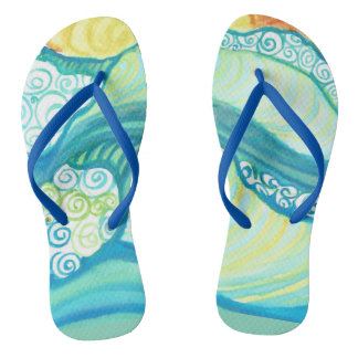 Surfer slippers flip flops