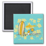 Surfer Tshirts and Gifts Fridge Magnets