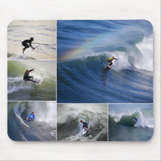 Surfers Collage Mousepad