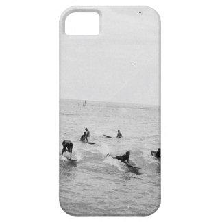 Surfers on Waikiki Beach, Hawaii, 1920s Photo iPhone 5 Cases