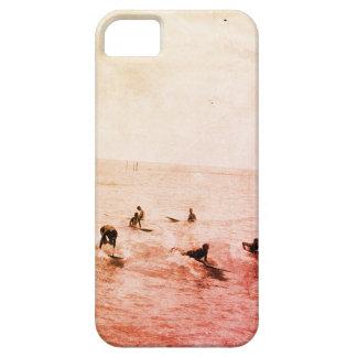 Surfers on Waikiki Beach, Hawaii, 1920s Photo iPhone 5 Covers