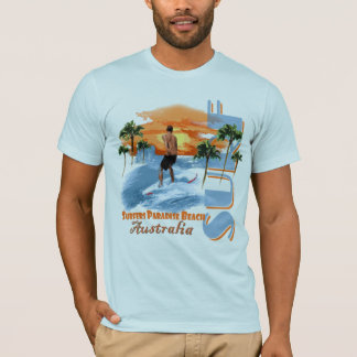 Surfer's Paradise Beach SURF! T-Shirt
