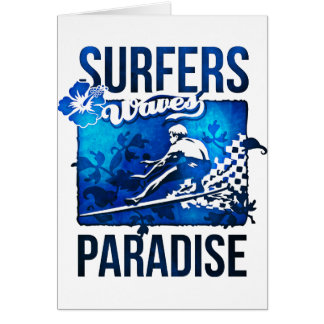 surfers paradise greeting cards