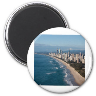Surfers Paradise Gold Coast Queensland Australia Refrigerator Magnet