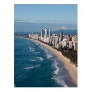Surfers Paradise Gold Coast Queensland Australia Postcard