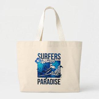 surfers paradise jumbo tote bag
