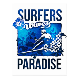 surfers paradise post card