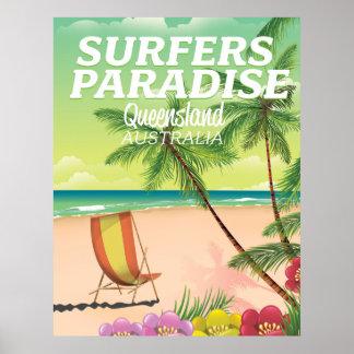 Surfers Paradise Queensland Australia Poster