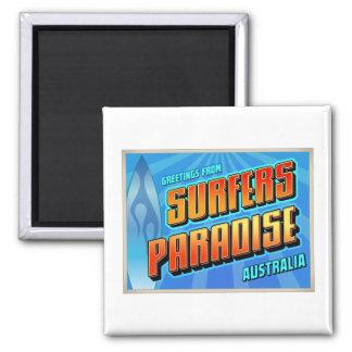 SURFERS PARADISE SQUARE MAGNET