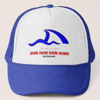 SURFESTEEM Apparel, Cap, Shark fin Trucker Hat