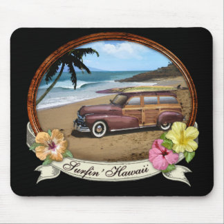 Surfin' Hawaii Mouse Pad