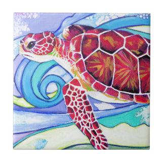 Surfin' Turtle Tile