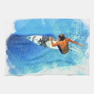 Surfing 1 Kitchen Towels