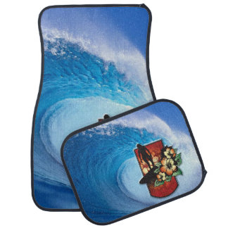 Surfing 3 Floor Mats Floor Mat