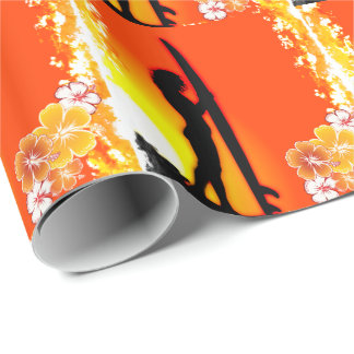 Surfing 9 Wrapping Paper