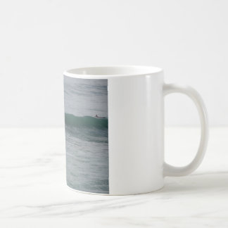 Surfing At Moonstone Beach in Cambria, CA Mugs